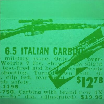 Andy Warhol, 'Rifle', 1968