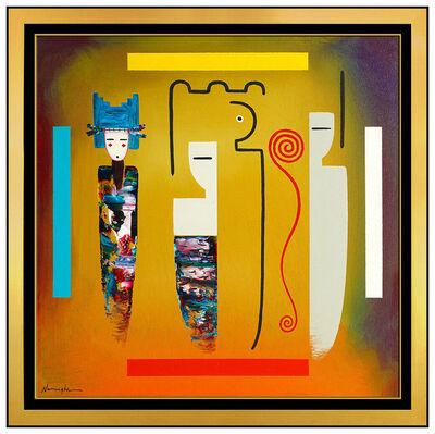 Dan Namingha, 'Passage & Symbolish ', 2000