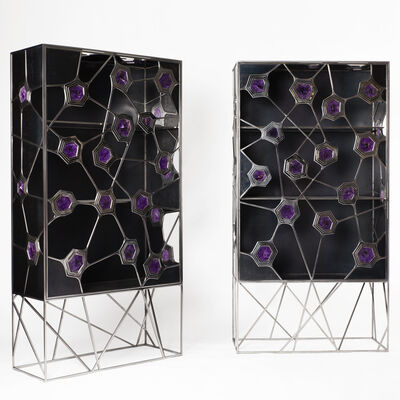 Erwan Boulloud, 'Pair of Cabinets', 2014
