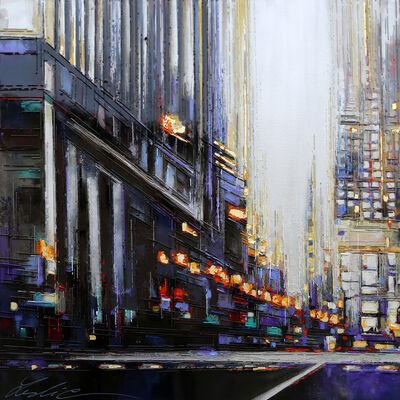 Leslie Berthet Laval, 'Urban city IX', 2019