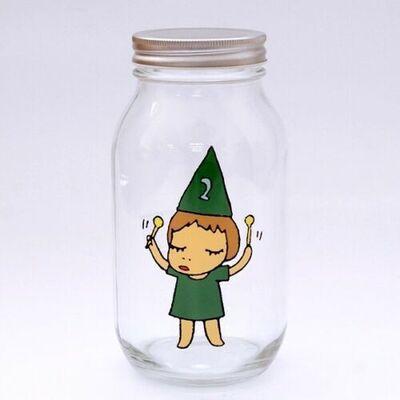 Yoshitomo Nara, 'Girl Storage Jar (900ml, Green)', ca. 2017