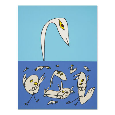 Antonio Saura, 'El Patito Feo (The Ugly Duckling)', 1997