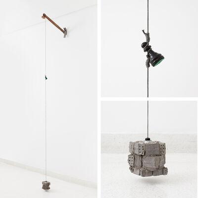 Daniel Murgel, 'Tentativa:Desaprumo (escala cinza)', 2016/17