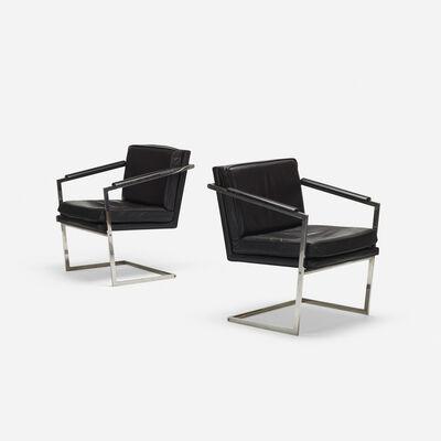 Richard Thompson, 'armchairs, pair', c. 1965
