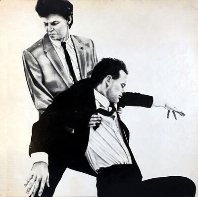 Robert Longo, 'Rare Original Robert Longo Vinyl Record Art (Men In The Cities)', 1981