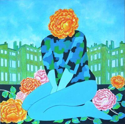 Jocelyne Deschamps-Kus (Jideka), 'Urban Roses', 2014