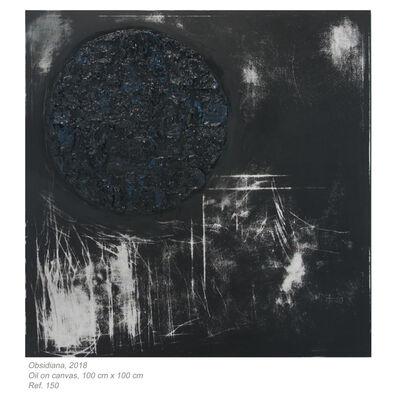 Susana Anaya, 'Conexiones  - Obsidiana', 2018