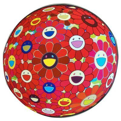 Takashi Murakami, 'Red Flowerball (3D)', 2013