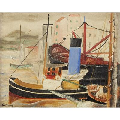 Moise Kisling, 'Le Port De Saint Tropez', Executed in 1918.