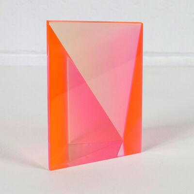Vasa Velizar Mihich, 'Orange Wedge', 2002