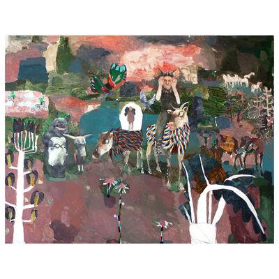Mònica Subidé, 'Travesia en el bosque de Nolde Mirocco', 2019