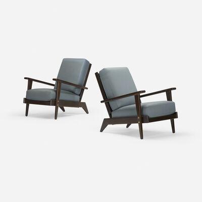 René Gabriel, 'lounge chairs, pair', c. 1950