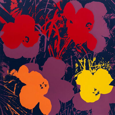 Andy Warhol, 'Flowers 11.66', 1967 printed later