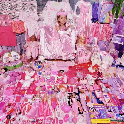 JeongMee Yoon, 'Tess and Her Pink & Purple Things', 2006
