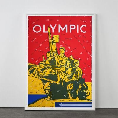 Wang Guangyi 王广义, 'Olympic I (from Rhythmical Dichotomy portfolio)', 2007-2008
