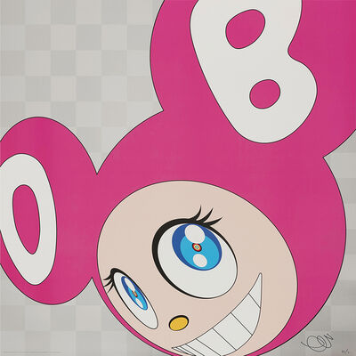 Takashi Murakami, 'And then and then and then and then and then (Pink) ', 1999