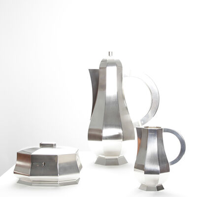 Wiwen Nilsson, 'Silver coffee set', 1945