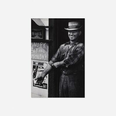 W. Eugene Smith, 'Coal Miner Laughing', c. 1955