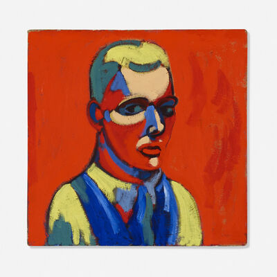 Charles Biederman, 'Self Portrait', 1934