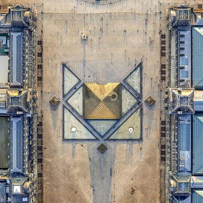 Jeffrey Milstein, 'Louvre Pyramid', 2019