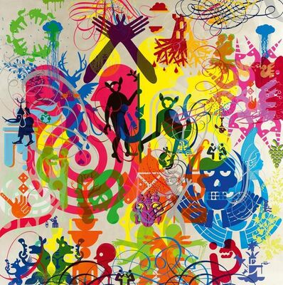 Ryan McGinness, 'WE'RE IN THIS TOGETHER', 2011