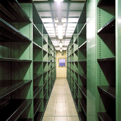 Candida Höfer, 'BNF Paris VI 1998', 1998