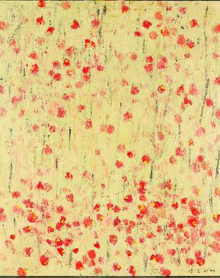 Kang Yobae, 'Flower Rain', 2004