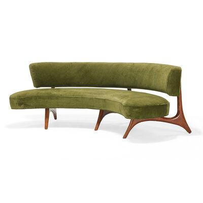 Vladimir Kagan, 'Floating Seat and Back sofa, USA'