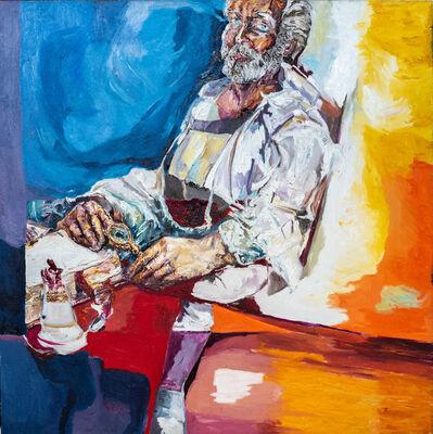 Egas Francisco, 'Retrato Rafaelesco', 2019