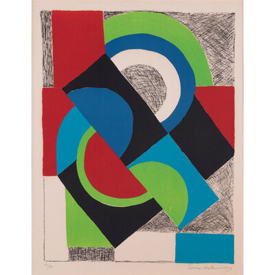 Sonia Delaunay, 'Contrepoint', circa 1965