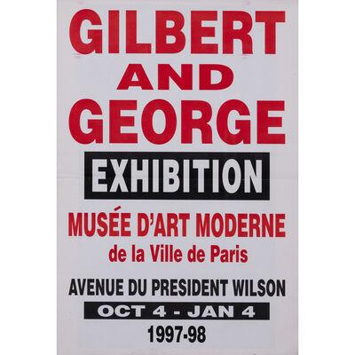 Gilbert and George, 'Exhibition - Musée Art Moderne de la Ville de Paris - 4 Octobre au 4 Janvier 1997-1998'
