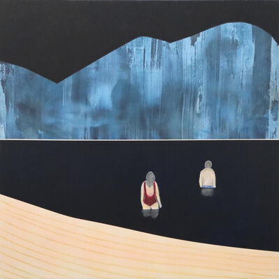 Mike Gough, 'Night Swimmers', 2019