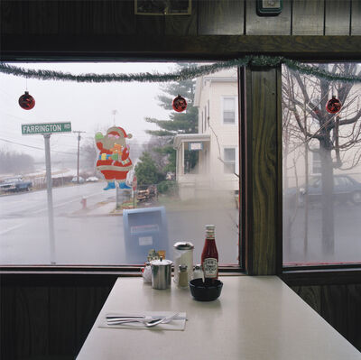 Jeff Brouws, 'Catsup bottle/ diner, Croton-On-Hudson', 1991