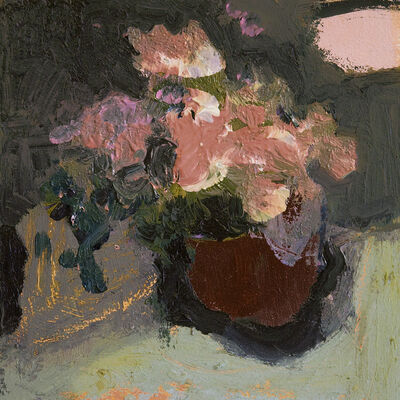 Jennifer Hornyak, 'Mahogany Brown with Pink', 2018