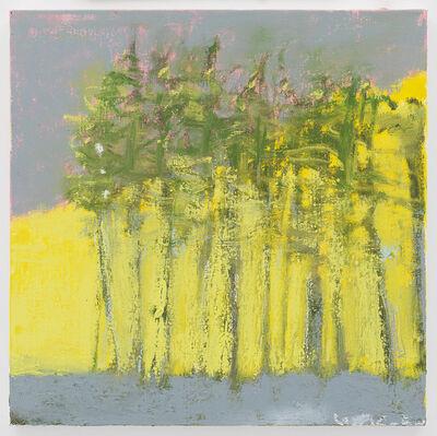 Wolf Kahn, 'Yellow Diagonal', 2015