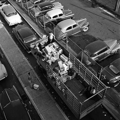 Vivian Maier, 'w00119-05, 1954 Aerial View of Truck', 2015