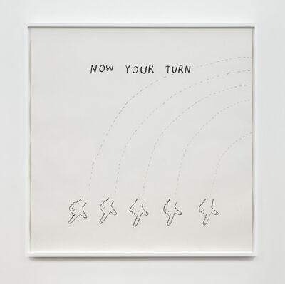 Christine Sun Kim, 'Now Your Turn', 2020