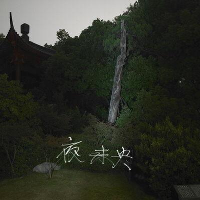 Qiu Zhijie, 'Forever Night (Green) 夜末央 (绿)', 2005