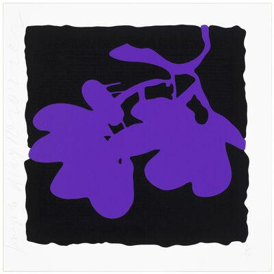 Donald Sultan, '(Purple) May 10', 2012