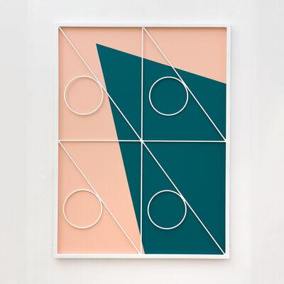 Przemek Pyszczek, 'Facade Painting VII, CA', 2019
