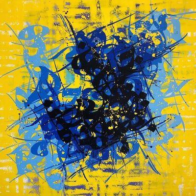 Babak Rashvand, 'Yellow & Blue', 2019