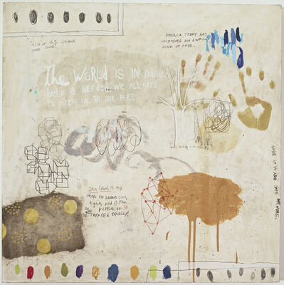 Squeak Carnwath, 'John Lewis is My Hero ', 2017