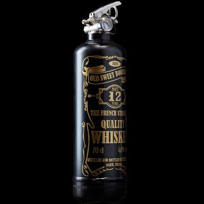 Jaler Fine Art, 'Extinguisher WHISKEY Black & Gold', 2021