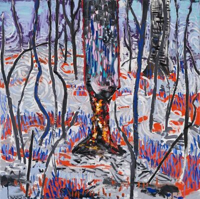 Abraham Lacalle, 'Burned trunk (Troncoquemado)', 2015
