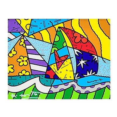 Romero Britto, 'New Sailing', 2000-2020