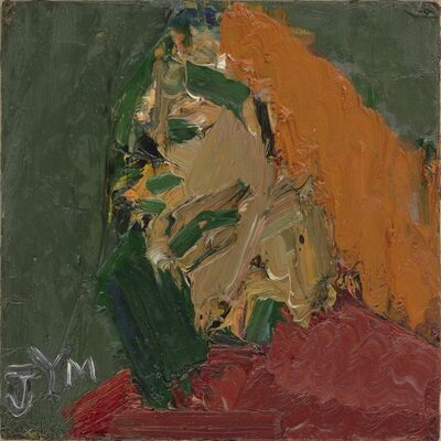 Frank Auerbach, 'Head of J.Y.M.', 1970