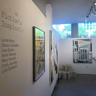 Fact is Fiction's Inspiration, installation view