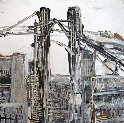 Boo Lynn Walsh, 'Bridges Triptych I', 2018
