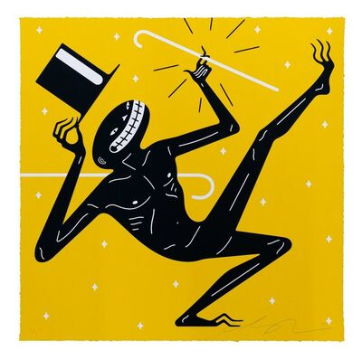 Cleon Peterson, 'Canceled - Yellow', 2021