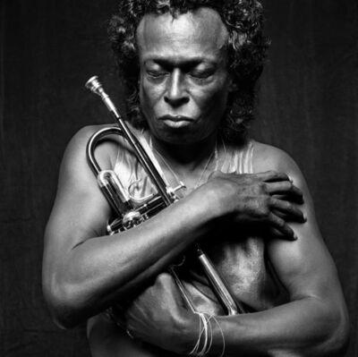 Michel Comte, 'Miles Davis II Per Lui ', 1989